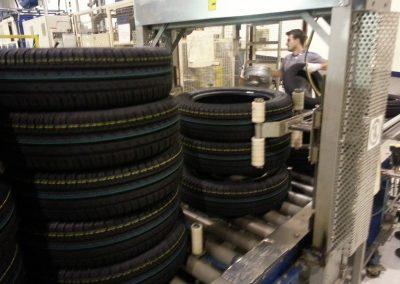 destohovač pneumatik