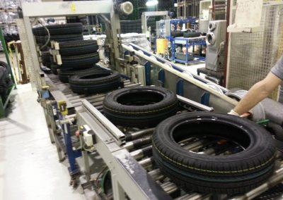 dopravníky válečkové na pneumatiky
