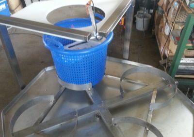 karusel na plastové koše